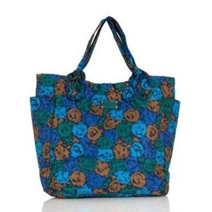 Marc by Marc Jacobs Lil Tate Blue Tote Bag